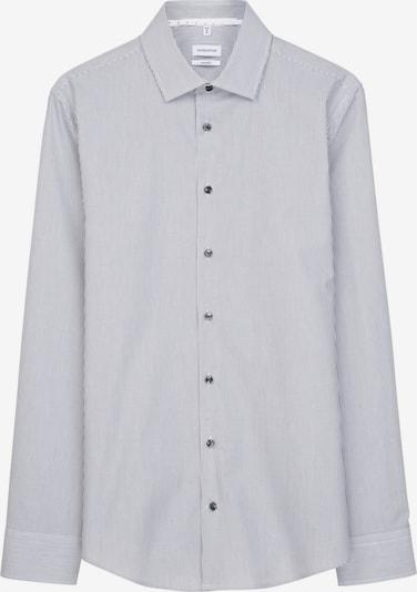 SEIDENSTICKER Zakelijk overhemd in de kleur Grijs / Wit, Productweergave