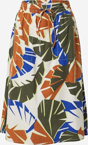 TOM TAILOR Skirt in Mixed colors