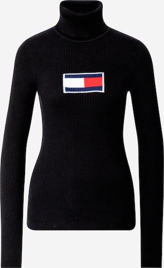 Tommy Jeans Sweter w kolorze czarnym: Widok z przodu
