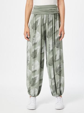 Hailys - Pantalón bombacho 'Jasmin' en verde
