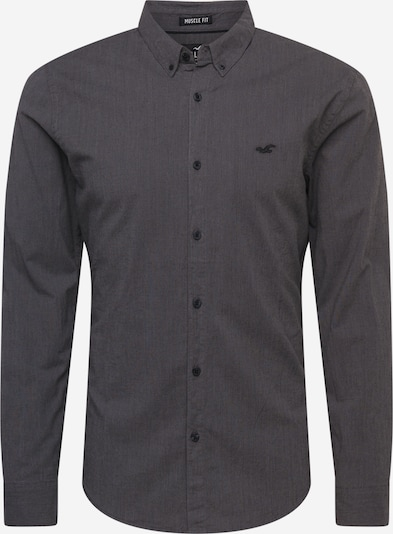 HOLLISTER Košeľa - čierna melírovaná, Produkt