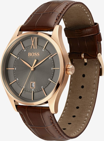 BOSS Casual Uhr in Braun