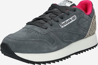 Reebok Classics Sneaker 'Ripple' in dunkelgrau / rot, Produktansicht