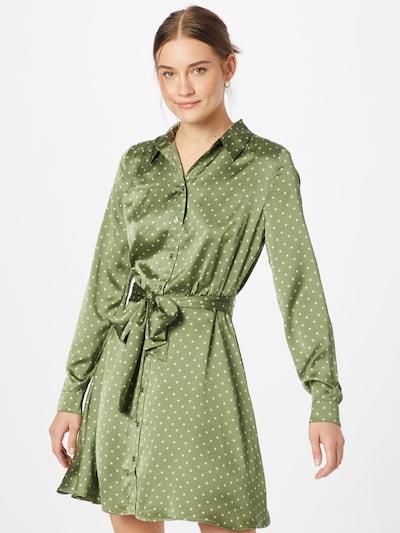GUESS Kleid in apfel / weiß, Modelansicht