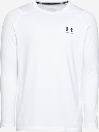 UNDER ARMOUR Функционална тениска в черно / бяло, Преглед на продукта