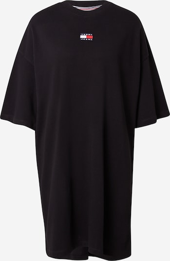 Rochie Tommy Jeans pe negru, Vizualizare produs