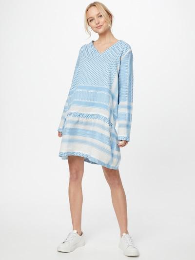 Rochie Cecilie Copenhagen pe albastru / alb, Vizualizare model