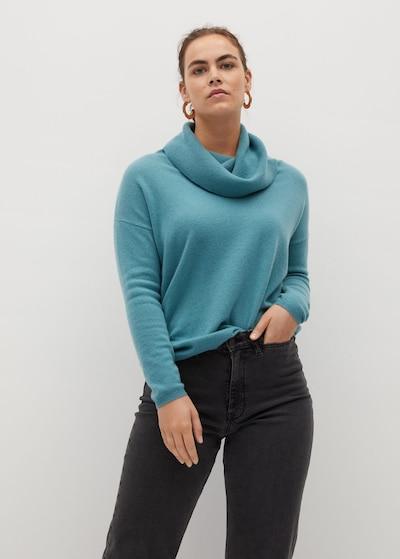 VIOLETA by Mango Pullover in jade, Modelansicht