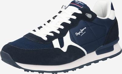 Pepe Jeans Nizke superge 'BRITT' | mornarska / bela barva, Prikaz izdelka