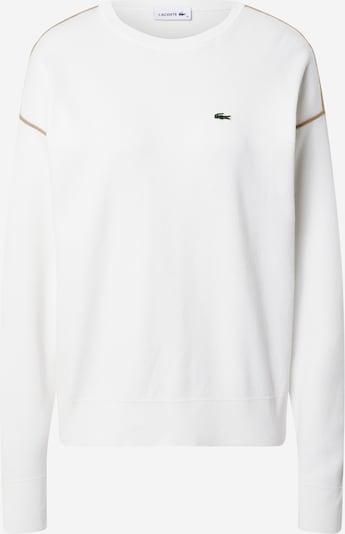 LACOSTE Pullover in braun / weiß, Produktansicht