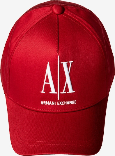 ARMANI EXCHANGE Cap in rot / weiß, Produktansicht