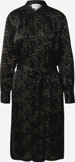SECOND FEMALE Blousejurk 'Ferlin' in de kleur Olijfgroen / Zwart, Productweergave