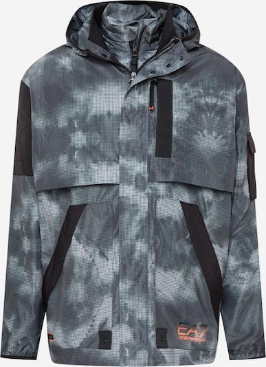 EA7 Emporio Armani Športová bunda - sivá / čierna / biela, Produkt