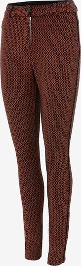 Aniston CASUAL Hose in rostrot / schwarz, Produktansicht