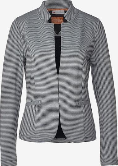 STREET ONE Blazer in schwarz / weiß, Produktansicht