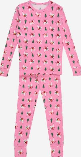 GAP Pajamas 'Xmas' in green / pink / white, Item view