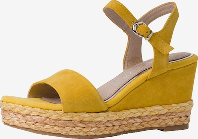 MARCO TOZZI by GUIDO MARIA KRETSCHMER Sandalette in limone, Produktansicht