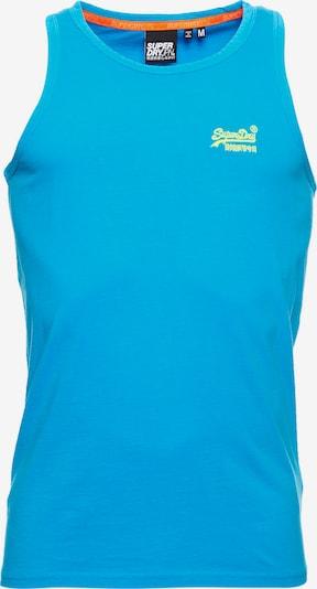 Superdry T-Shirt en bleu: Vue de face