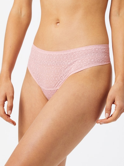 MAGIC Bodyfashion String i lys pink: Frontvisning