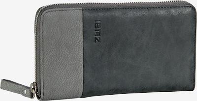 ZWEI Portemonnaie' Eva' in grau / dunkelgrau, Produktansicht