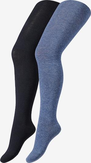 camano Kinderstrumpfhose 'organic cotton ca-soft' in blau, Produktansicht