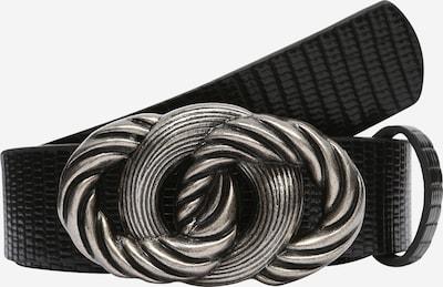 OBJECT Cinturón en negro / plata, Vista del producto