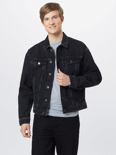 JACK & JONES Prechodná bunda - čierna, Model/-ka