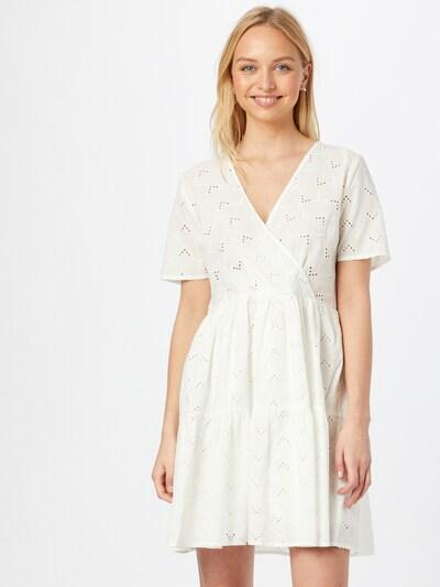 VILA Wickelkleid 'VISILJE' in weiß, Modelansicht