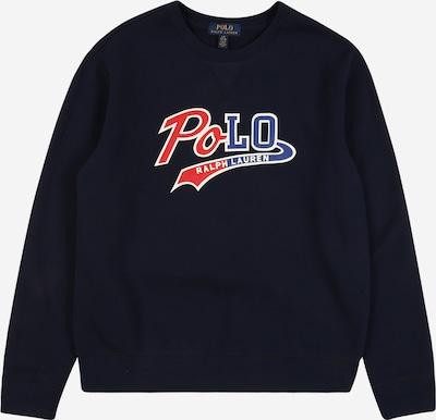 POLO RALPH LAUREN Sweatshirt in navy / grenadine / weiß, Produktansicht