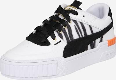 PUMA Baskets basses 'Cali' en noir / blanc, Vue avec produit