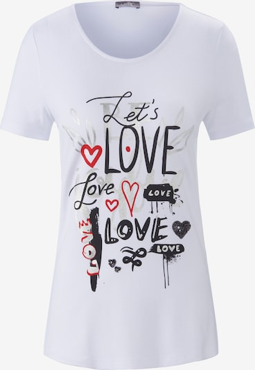 MYBC Rundhals-Shirt in weiß, Produktansicht