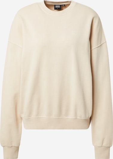 Dr. Denim Sweat-shirt 'Fergie' en champagne, Vue avec produit