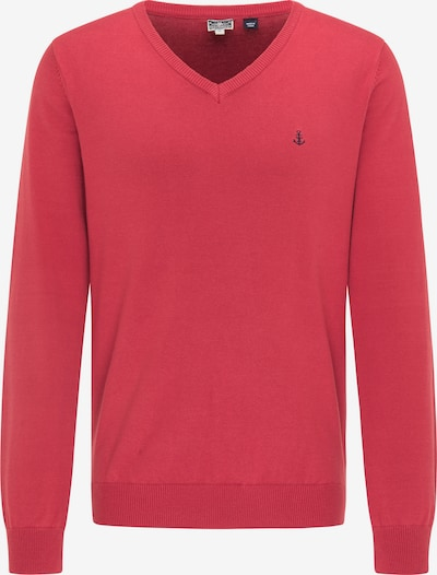 DreiMaster Maritim Pullover in rot, Produktansicht