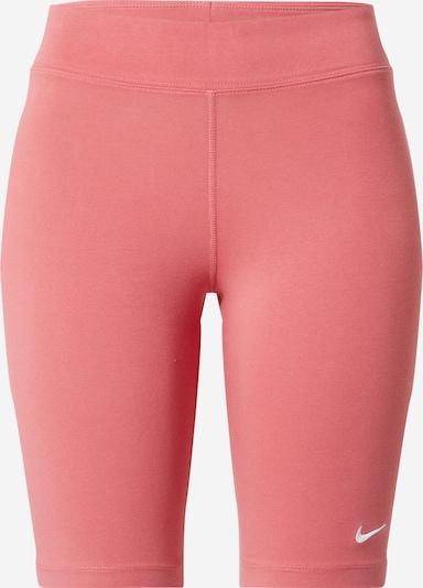 Nike Sportswear Bikses, krāsa - rozā / balts, Preces skats