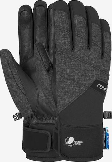 REUSCH Fingerhandschuhe 'Febe R-TEX® XT' in schwarz / schwarzmeliert, Produktansicht