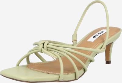 NA-KD Sandále - svetlozelená, Produkt