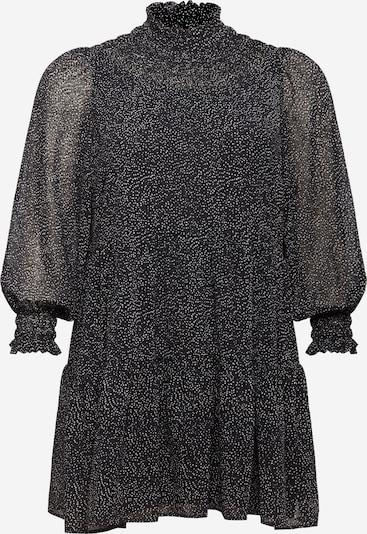 PIECES Curve Jurk 'Mathila' in de kleur Zwart / Wit, Productweergave