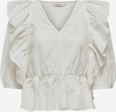 ONLY Bluse in weiß, Produktansicht