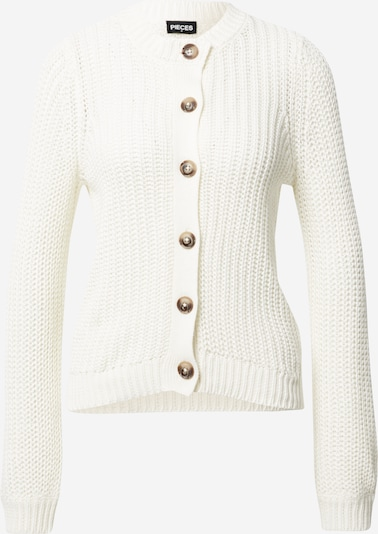 PIECES Knit Cardigan 'PETULA' in White, Item view