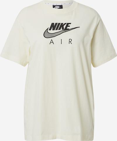 Nike Sportswear T-Shirt in creme / schwarz, Produktansicht