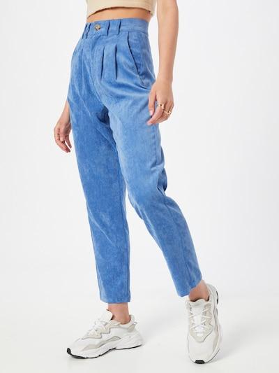 Daisy Street Kalhoty se sklady v pase 'HANNAH' - královská modrá, Model/ka