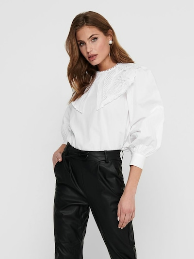 ONLY Blouse in White, View model