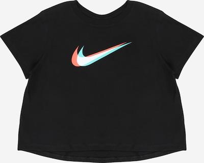 Tricou Nike Sportswear pe azuriu / roșu / negru / alb, Vizualizare produs