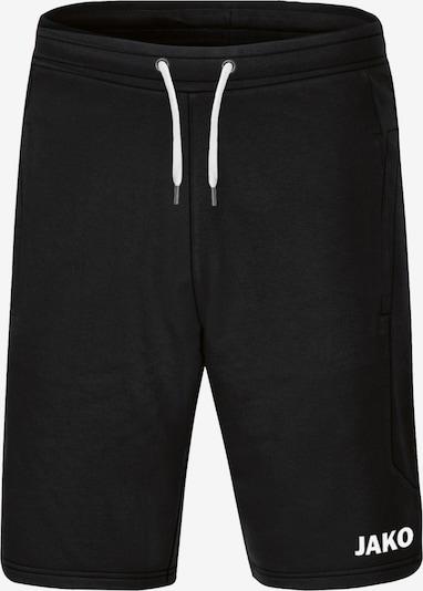 JAKO Sporthose in schwarz / weiß, Produktansicht