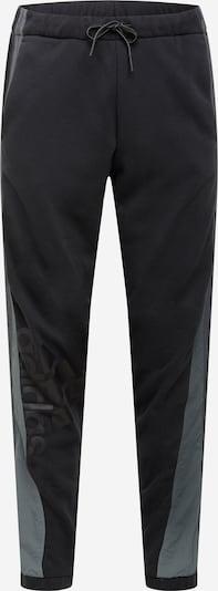 ADIDAS PERFORMANCE Pantalón deportivo en gris / gris oscuro / negro, Vista del producto
