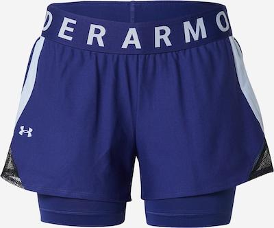 UNDER ARMOUR Sporthose 'Play Up' in blau / weiß: Frontalansicht