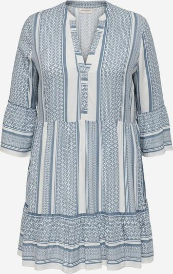 ONLY Carmakoma Vestido en azul claro / blanco, Vista del producto