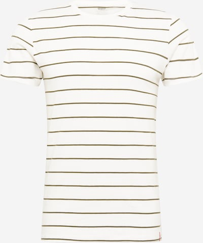 LEVI'S Shirt in grau / khaki / weiß, Produktansicht