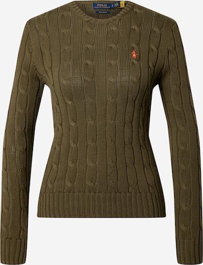 POLO RALPH LAUREN Pullover in oliv, Produktansicht