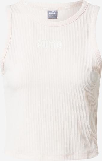 Top sportivo PUMA di colore rosa pastello / bianco, Visualizzazione prodotti